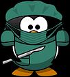 pingüino médico
