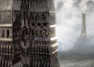 las dos torres el señor de los anillos