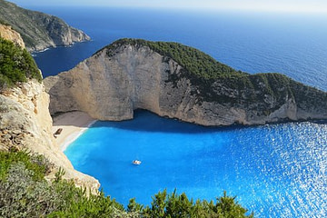 paisaje playa menorca