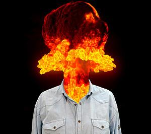 explosion cabeza