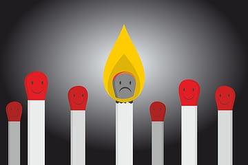 burnout cansancio quemada por la diabetes