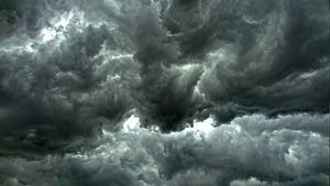 tormenta con nubes oscuras